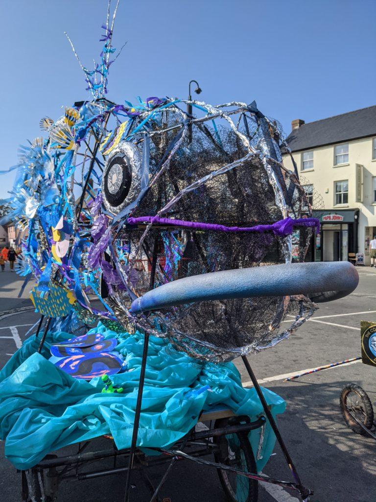 Bicester Festival – SeaChange'21 parade photograph
